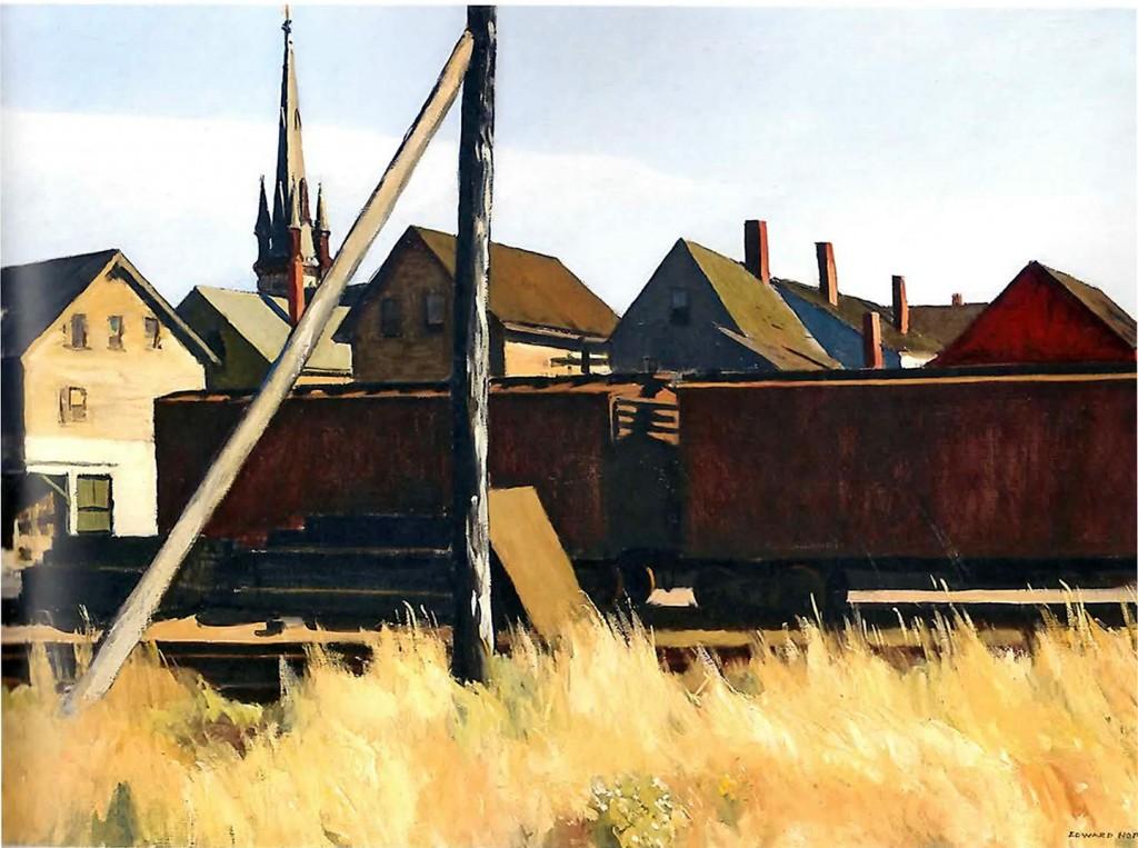 Edward Hooper Freight Cars 1928