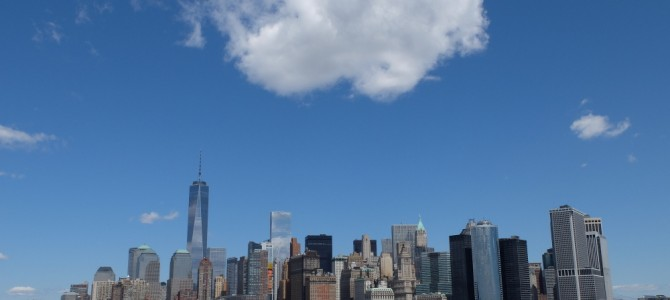 NYC : the cloud in the sky