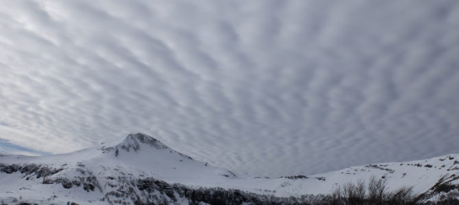 Cheylade I. La nieve – La neige ¿blanco o negro?